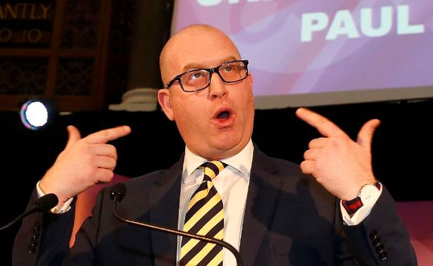 Paul Nutall give up the ghost man