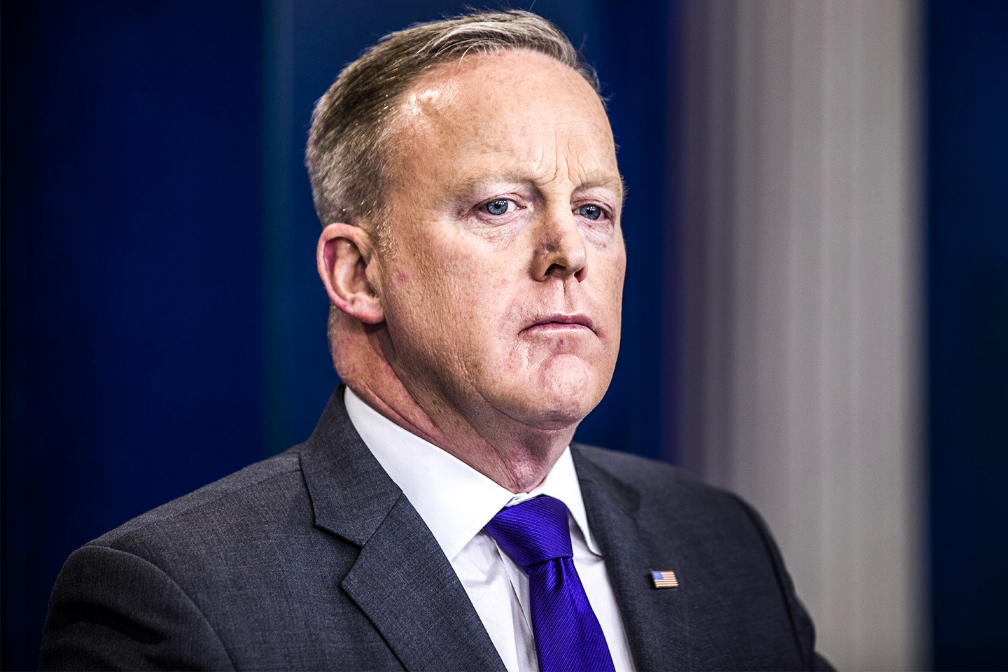 Sean Spicer quits as Chief shit deflector