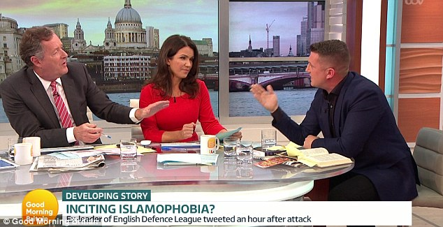 I don't know who I hate more Tommy Robinson or Good Morning Britain for giving the cunt a mouthpiece