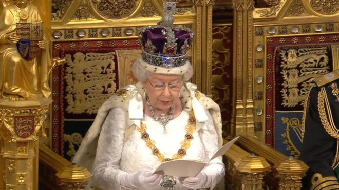 Queen's speech delayed whilst terrorist sympathisers improve Tory manifesto