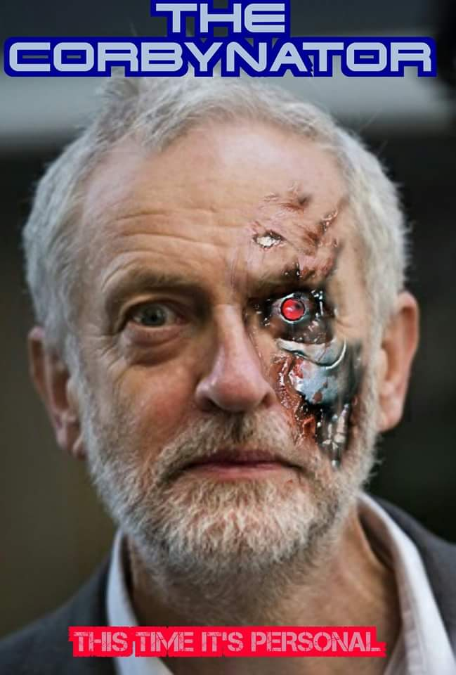 Corbyn destroyed May today