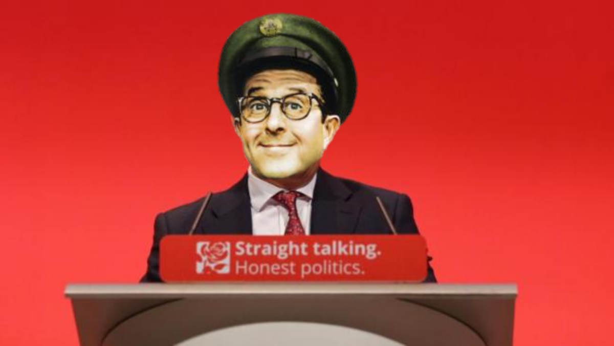 Owen Smith hoped Labour actually had a chance of winning with him at the helm