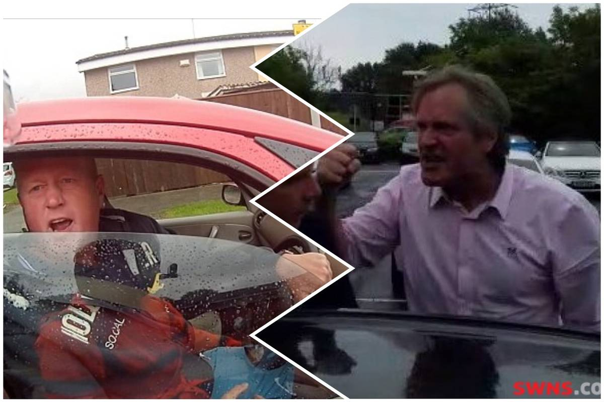 Ronnie Pickering challenges 'that car park cunt' to a fist fight