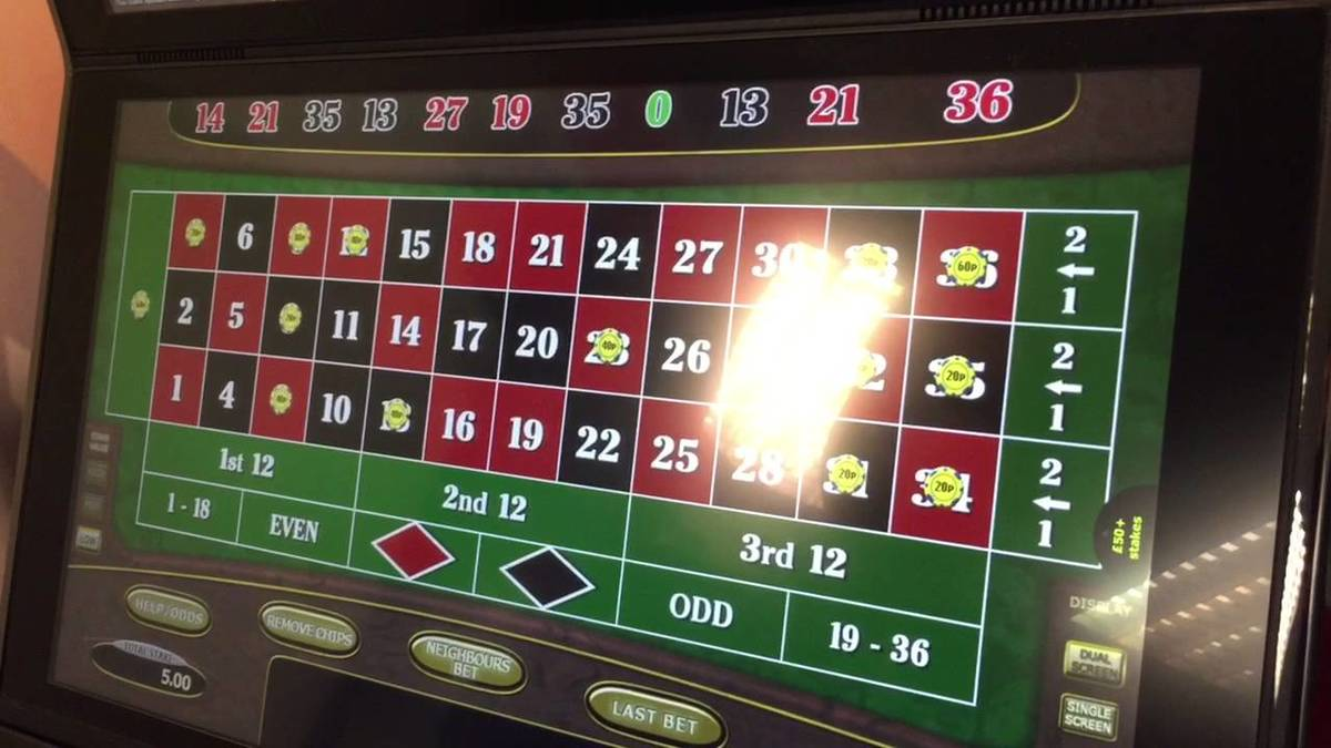 Fixed Odds Betting Terminals are a cancer on society