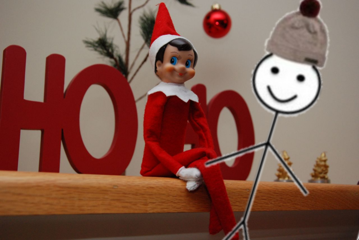 Be like Bob and forget about elf on a shelf