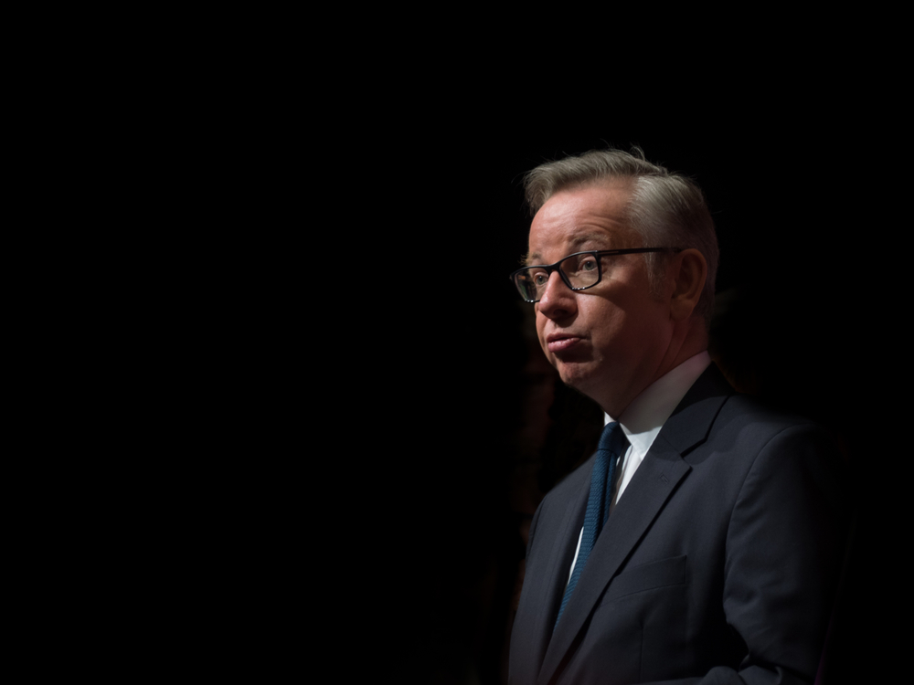Gove is a smug Pob featured cunt