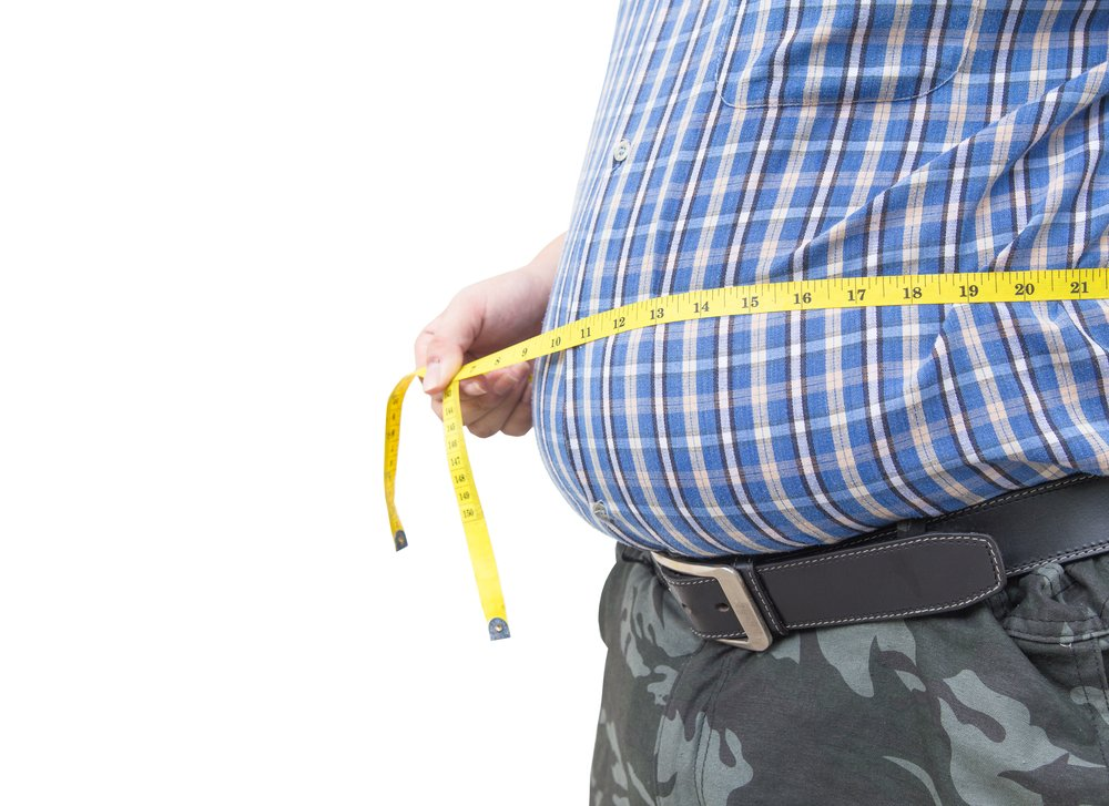 Obese man horrified to learn waists aren't measured under the gut