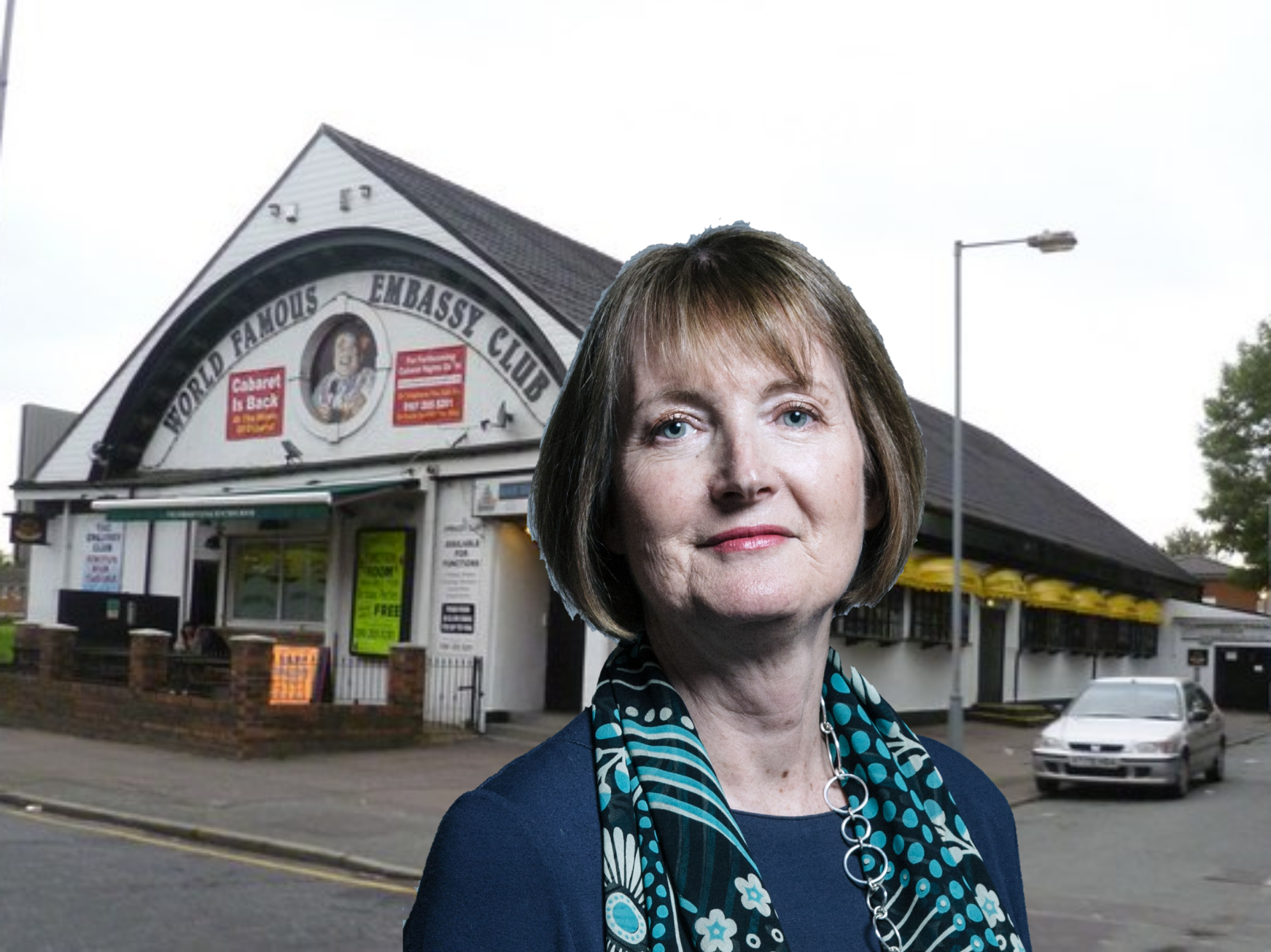 Harriet Harman to compere at The World Famous Embassy Club
