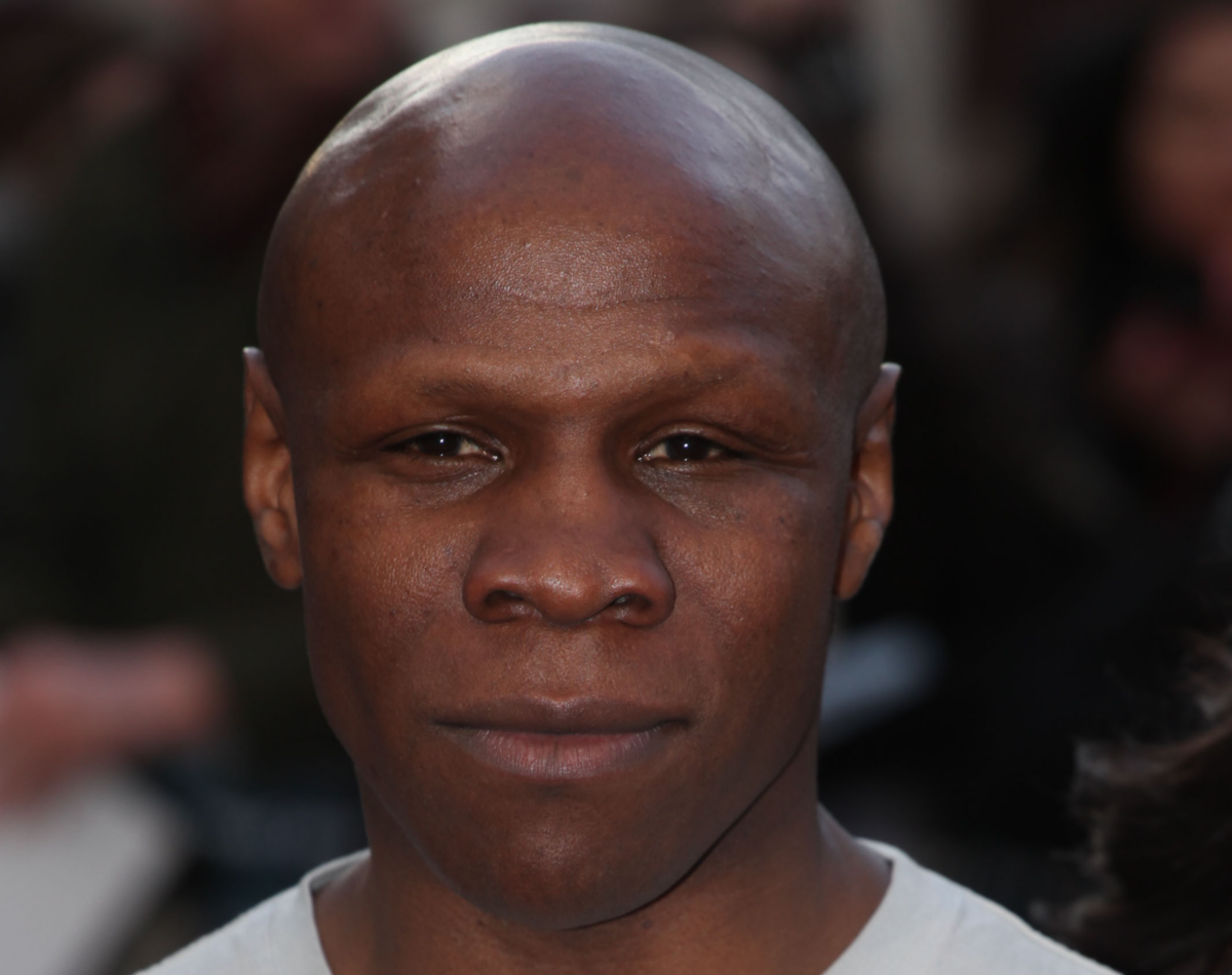 There's something you've never noticed about Chris Eubank before