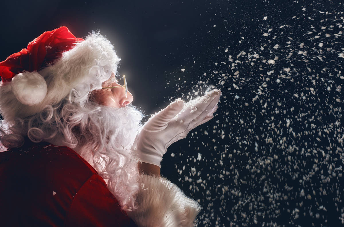 If that fat bastard lets my kids down again this Christmas I'm going to the North Pole to sort him out