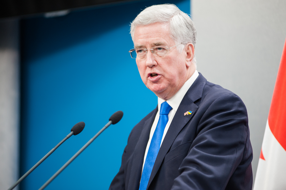 Michael Fallon will never offer his gloves out to anyone again