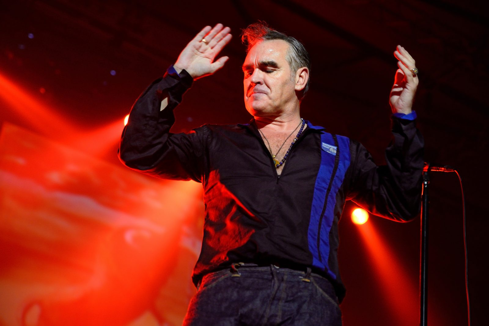 Morrissey only says controversial shit when there's tickets or an album to sell