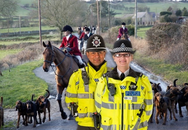 Police who attended boxing day fox hunts suspect fox hunts may have happened