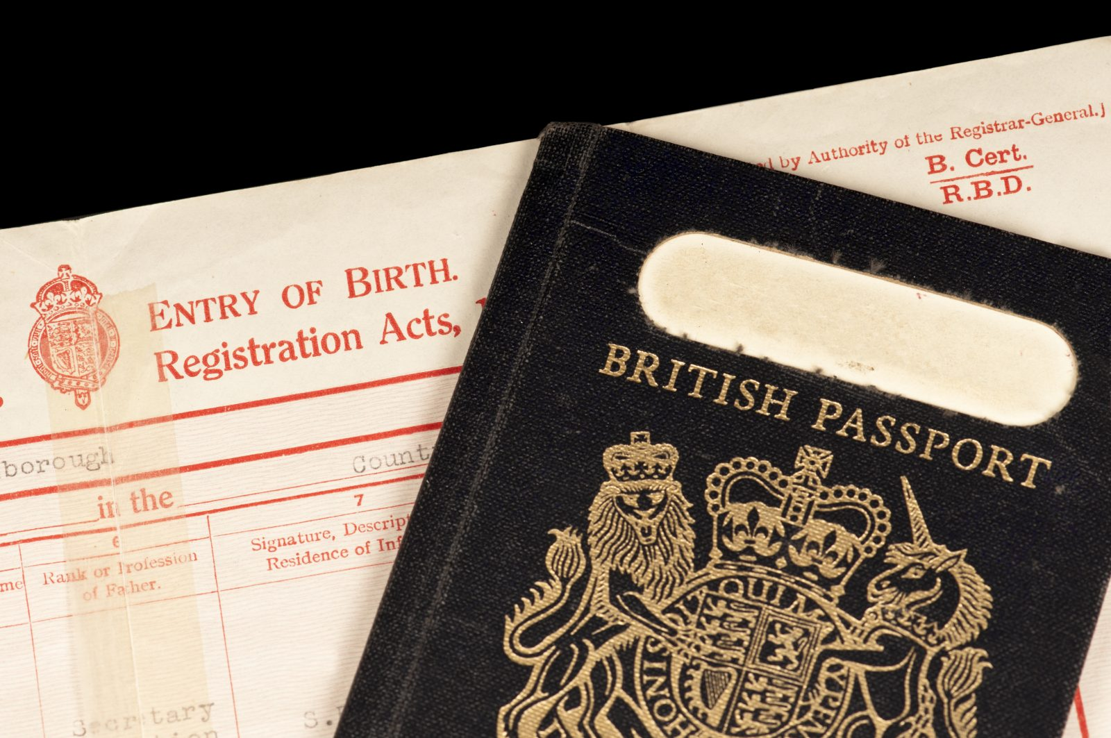 Blue passports are just chufty badges for thick fucks