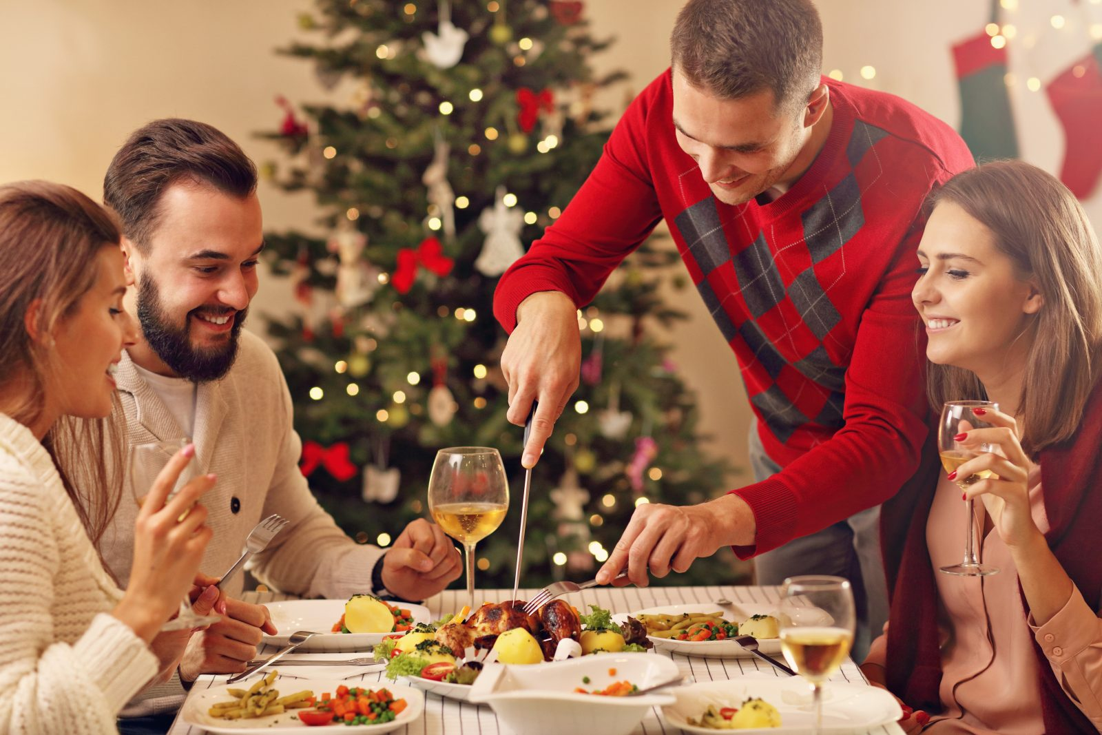 I made Christmas dinner – Next year we're going to the fucking pub