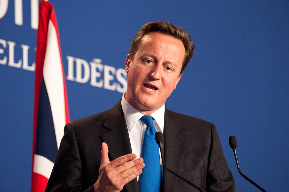 Dave 'Pig Shagger' Cameron assures Trump no one believes rumours in books