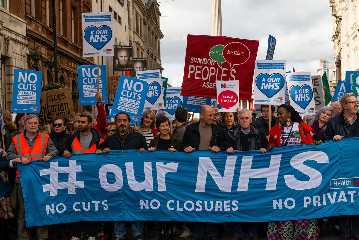 Trump is half right, the NHS is broke, but it will always work because of its people