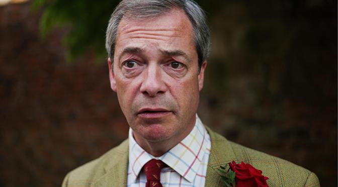 Nigel Farage heartbroken after learning The Daily Express is seeing Jacob Rees-Mogg behind his back
