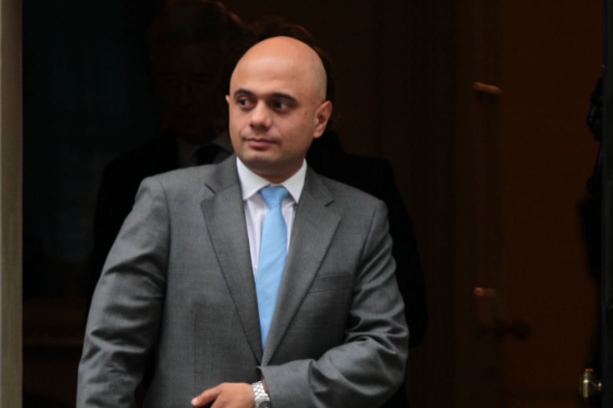 Sajid Javid promoted to Human Shield