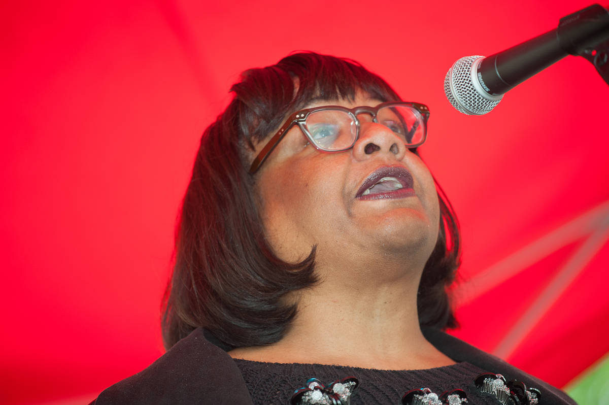 Police called to McDonald's after 4 hour standoff between Diane Abbott and a server who asked if she'd like fries