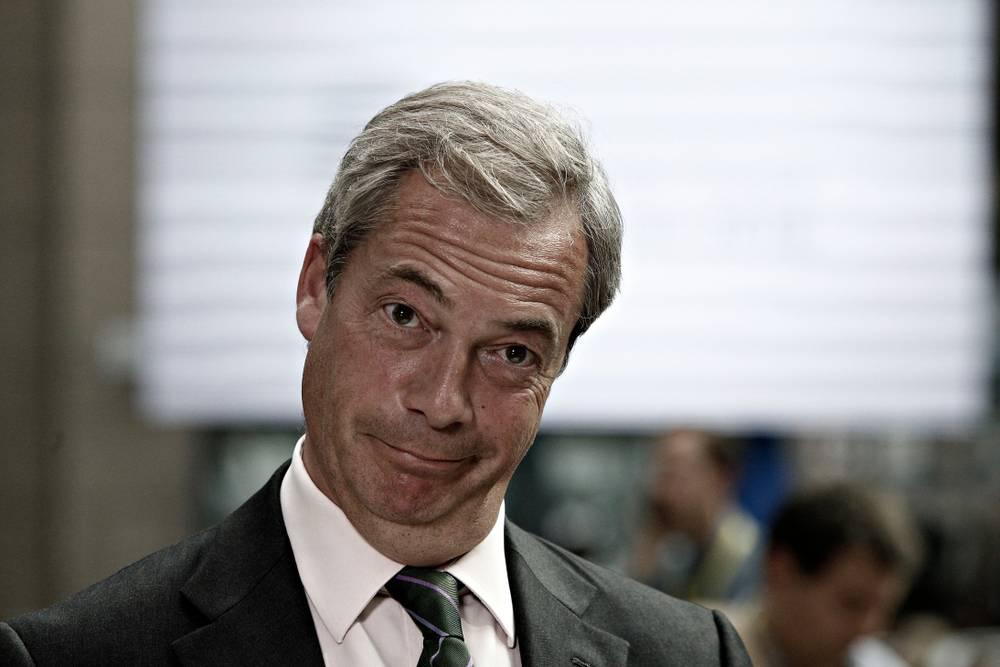 Nigel Farage to move two seats to the right on Question Time