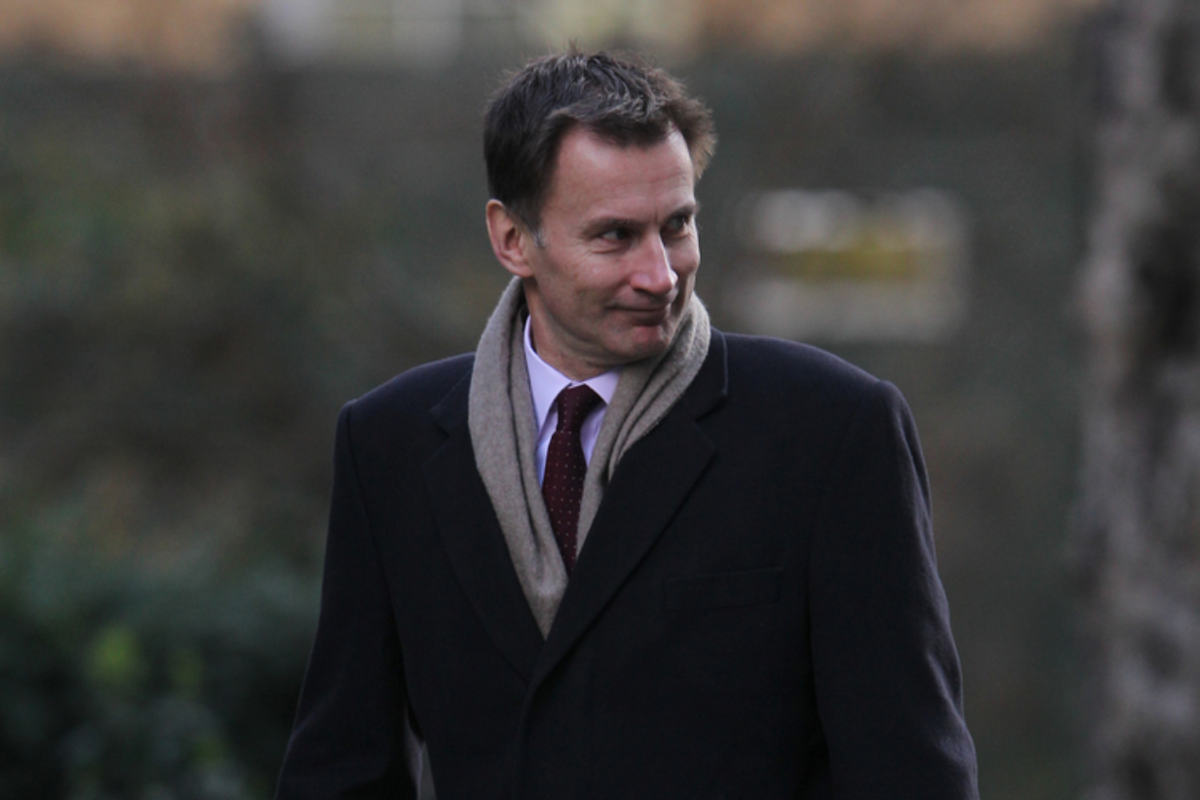 NHS gets best Birthday present ever as Jeremy Hunt fucks off
