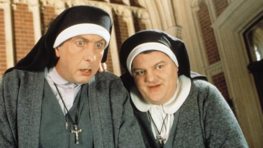 Fury as Robbie Coltrane replaces Whoopi Goldberg in Sister Act 3