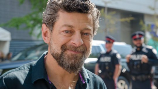 Andy Serkis retires after being told he can only play bearded white men
