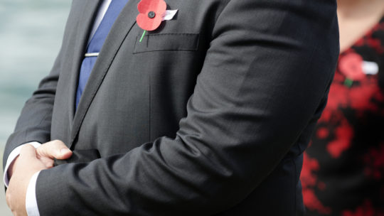 Nobody is offended by your poppy