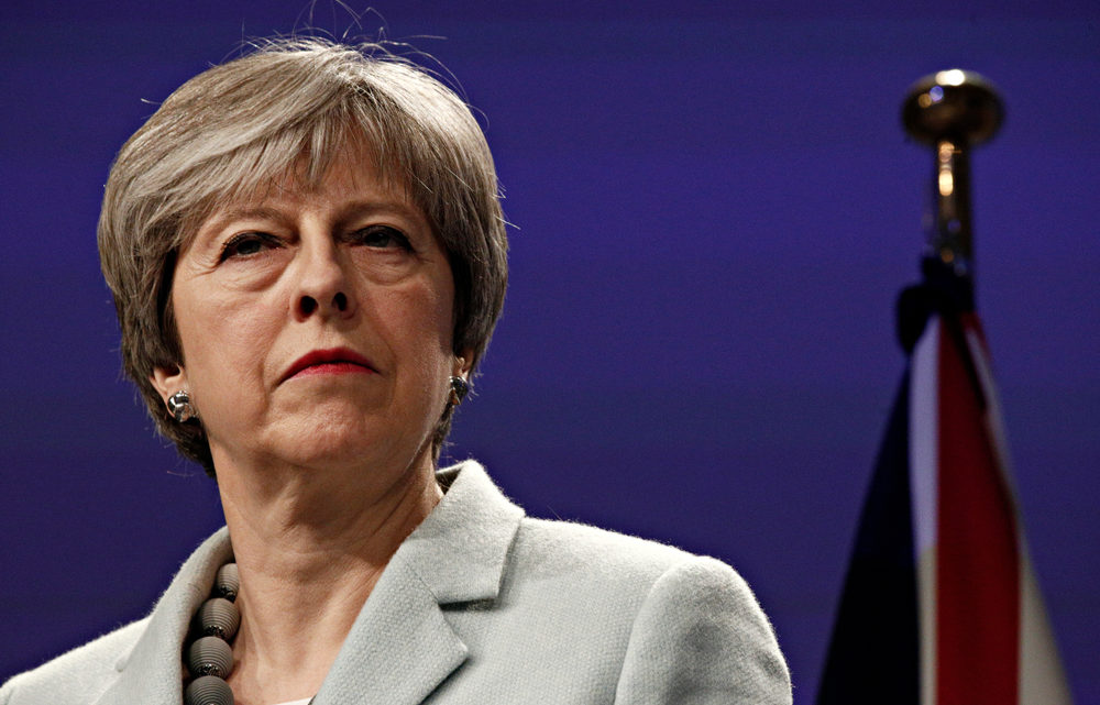 Theresa May harder to get rid of than your mum on the phone