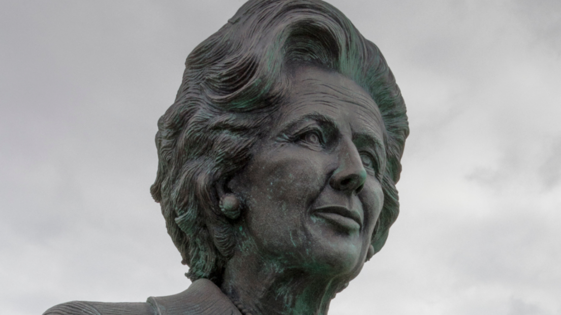 Thatcher statue to be made from the same material as Theresa May so that shit doesn't stick