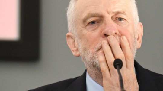 Jeremy Corbyn 'thrilled' to meet with Theresa May and discuss him being blamed for this massive stinking Tory fuck-up