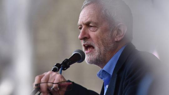 Jeremy Corbyn criticized for breaking man's egg