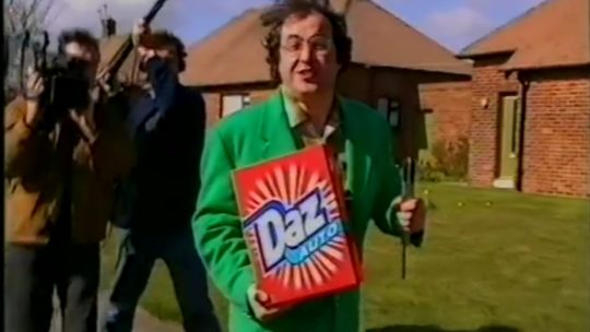 The signs were all there with Danny Baker and his obsession with whiter than white