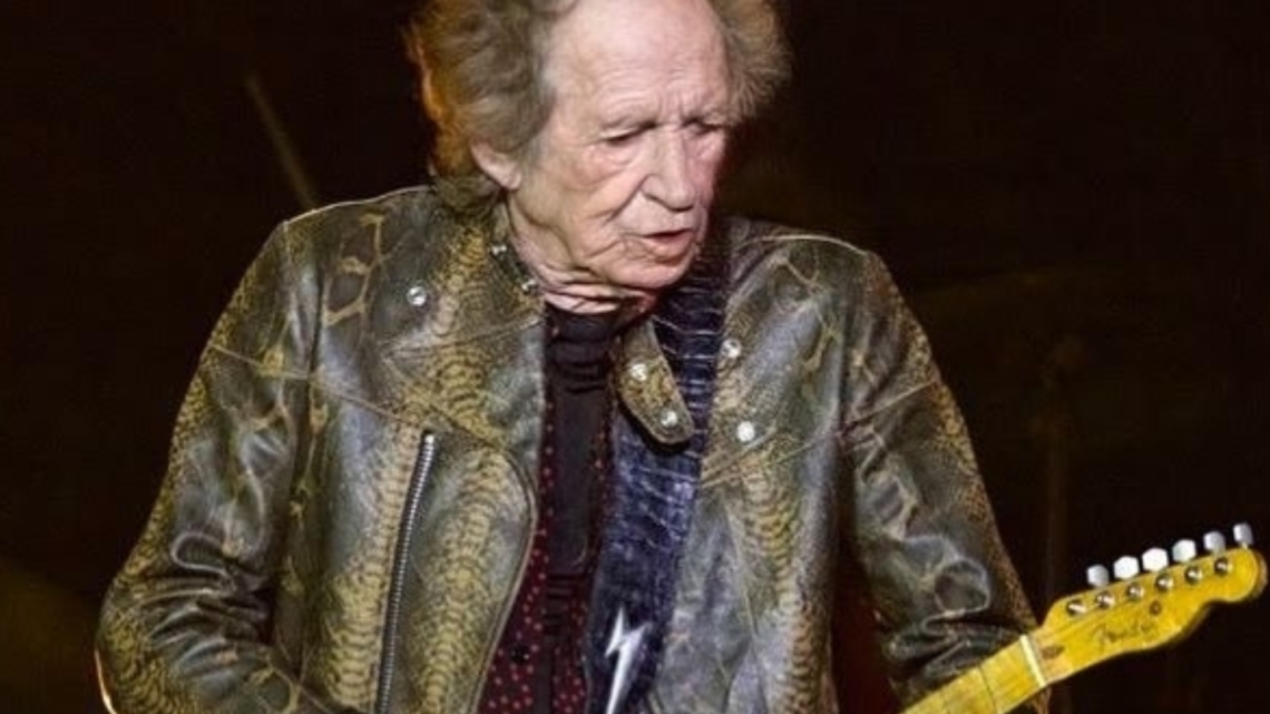 Keith Richards had a play about with FaceApp and broke it
